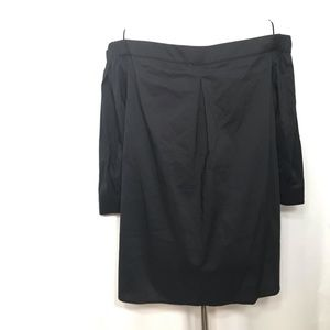 Halogen Tops - Halogen Black Off Shoulder 3/4 sleeve Top